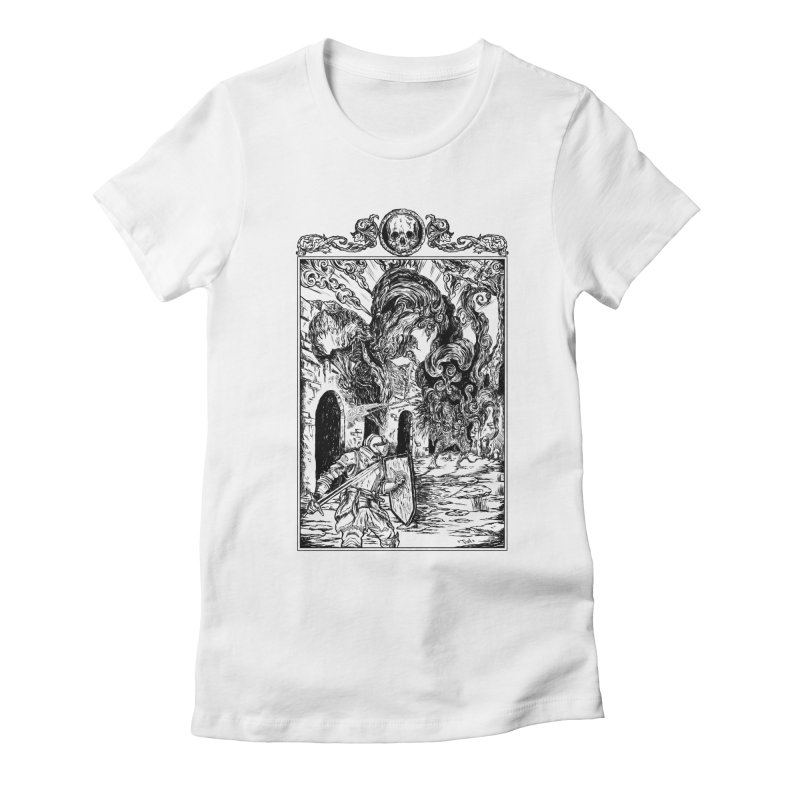 Fight The Third Soul Women's Fitted T-Shirt by jailbreakarts's Artist Shop