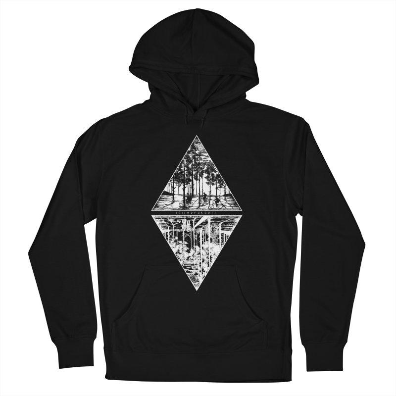 The Upside-Down (Black Shirt) Women's Pullover Hoody by JailbreakArts's Artist Shop