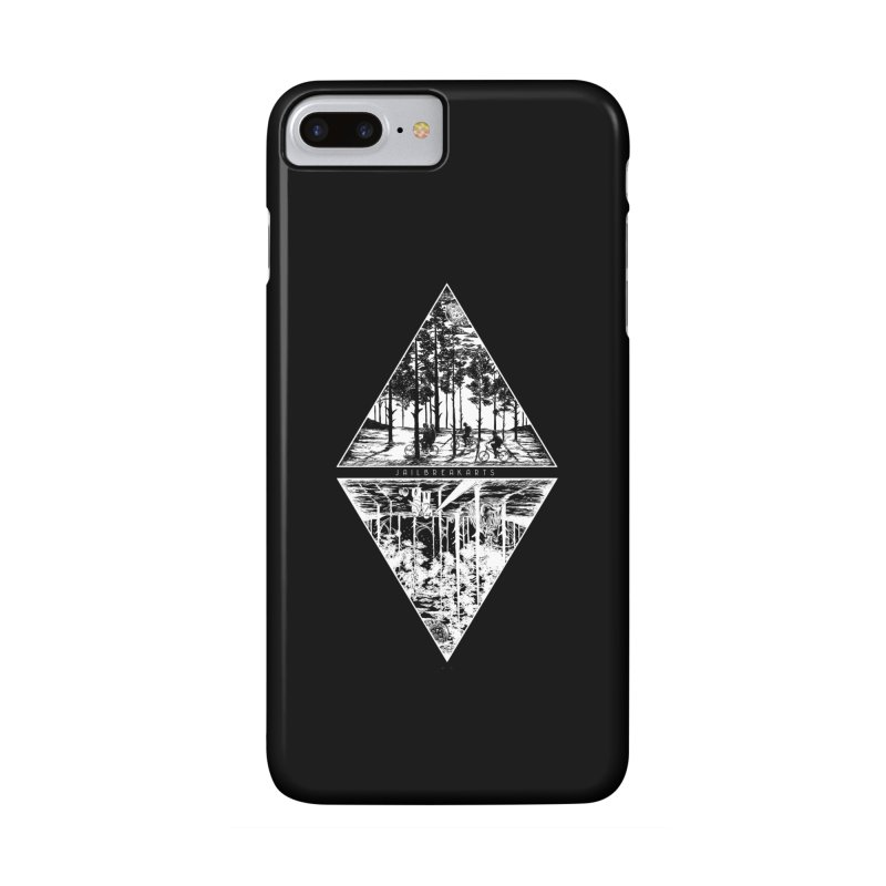 The Upside-Down (Black Shirt) in iPhone 7 Plus Phone Case Slim by JailbreakArts's Artist Shop