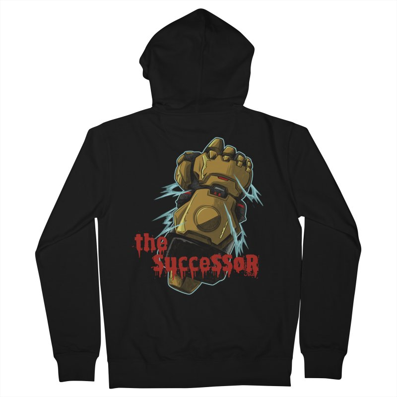 The Successor Men's Zip-Up Hoody by JailbreakArts's Artist Shop