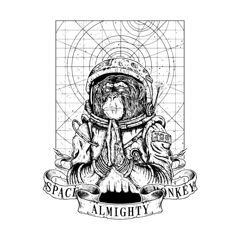 Almighty Space Monkey by JailbreakArts's Artist Shop