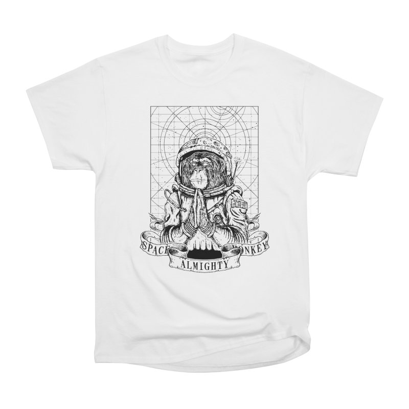 Almighty Space Monkey Women's Classic Unisex T-Shirt by JailbreakArts's Artist Shop