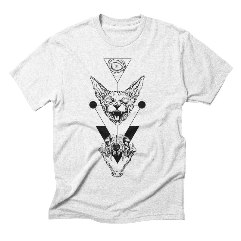 Double Sphynx Men's Triblend T-shirt by JailbreakArts's Artist Shop