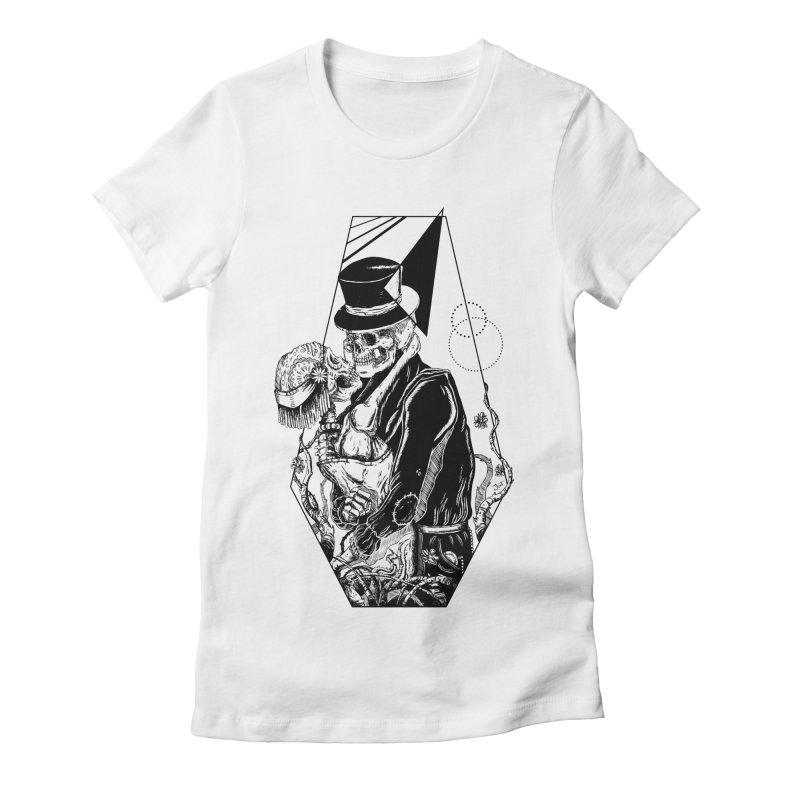 Never Ending Love Women's Fitted T-Shirt by JailbreakArts's Artist Shop