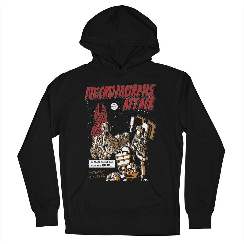 The Necromorphs Attack Women's Pullover Hoody by JailbreakArts's Artist Shop