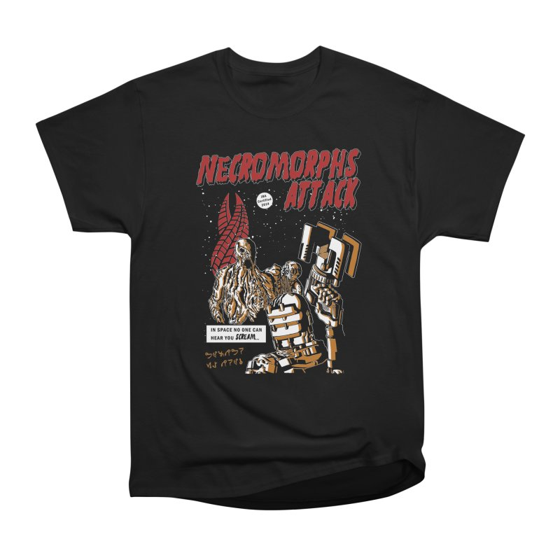 The Necromorphs Attack Men's Classic T-Shirt by JailbreakArts's Artist Shop