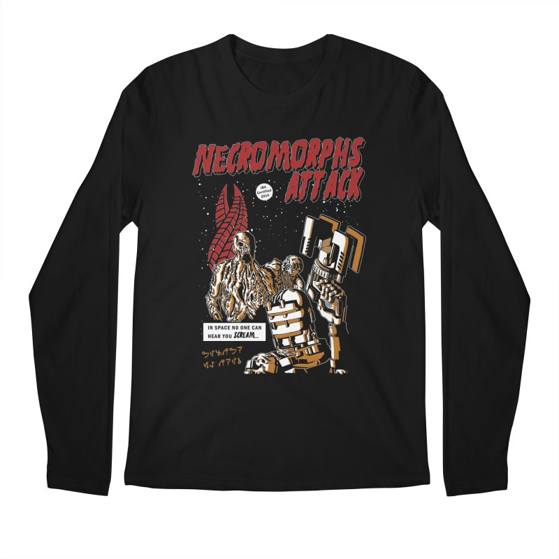 The Necromorphs Attack Men's Longsleeve T-Shirt by JailbreakArts's Artist Shop