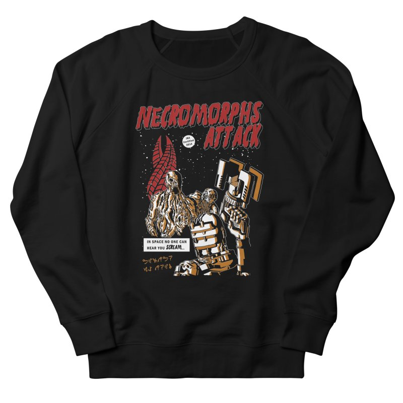 The Necromorphs Attack Men's Sweatshirt by JailbreakArts's Artist Shop