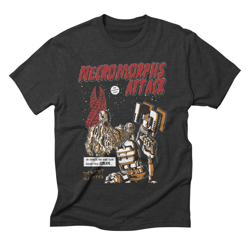 The Necromorphs Attack Men's Triblend T-shirt by JailbreakArts's Artist Shop