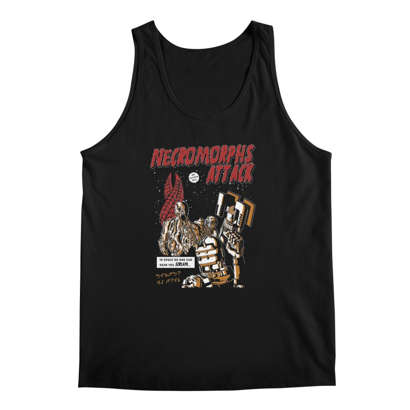The Necromorphs Attack Men's Tank by JailbreakArts's Artist Shop