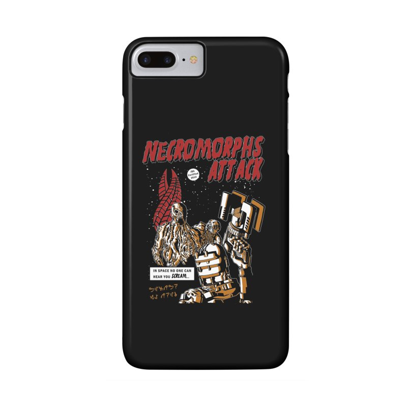 The Necromorphs Attack Accessories Phone Case by JailbreakArts's Artist Shop