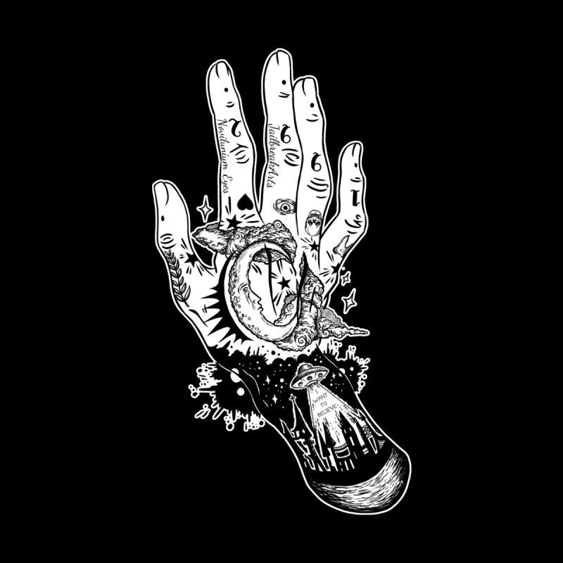 Tattooed Hand White Version by JailbreakArts's Artist Shop