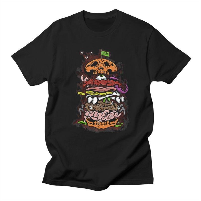Horror Burger Women's Unisex T-Shirt by JailbreakArts's Artist Shop