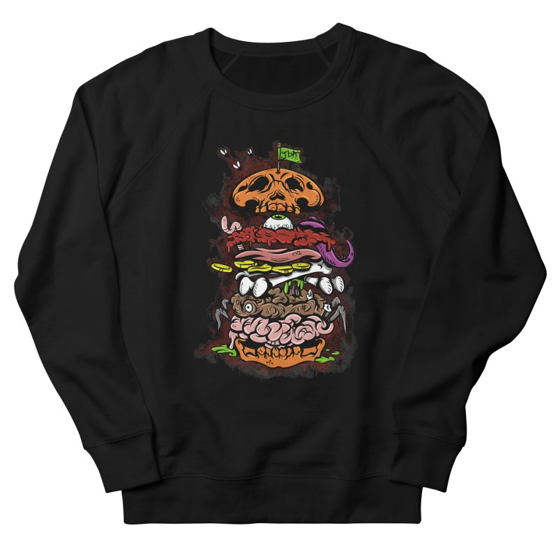 Horror Burger Men's Sweatshirt by JailbreakArts's Artist Shop
