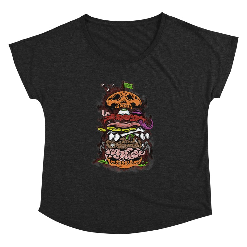 Horror Burger Women's Dolman by JailbreakArts's Artist Shop