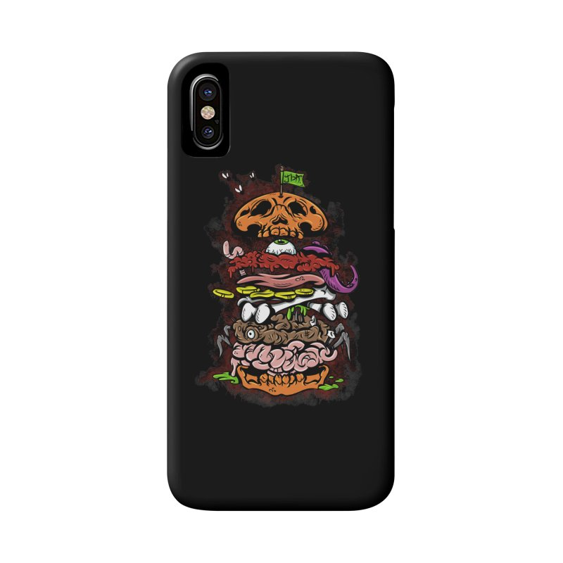Horror Burger Accessories Phone Case by JailbreakArts's Artist Shop