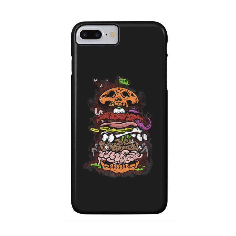 Horror Burger Accessories Phone Case by JailbreakArts's Artist Shop
