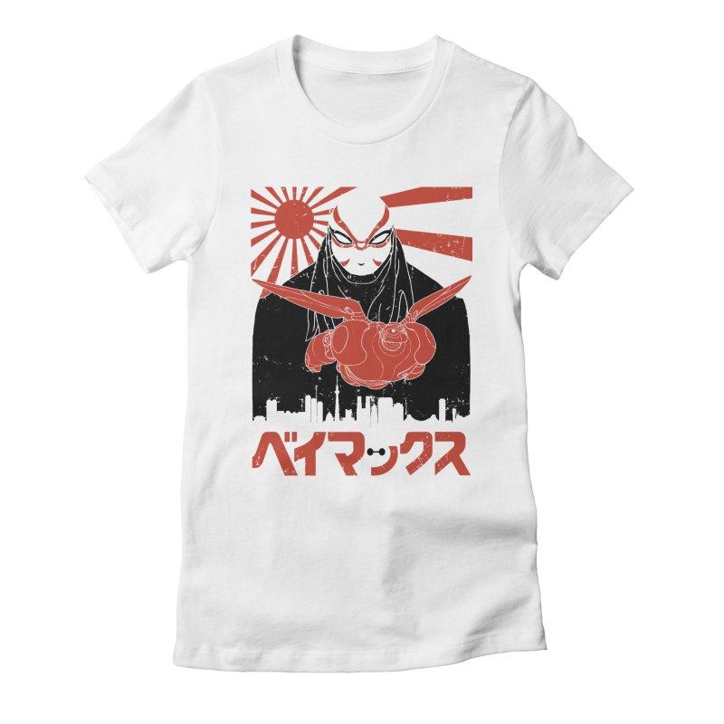 Big Hero Shirt Women's Fitted T-Shirt by JailbreakArts's Artist Shop