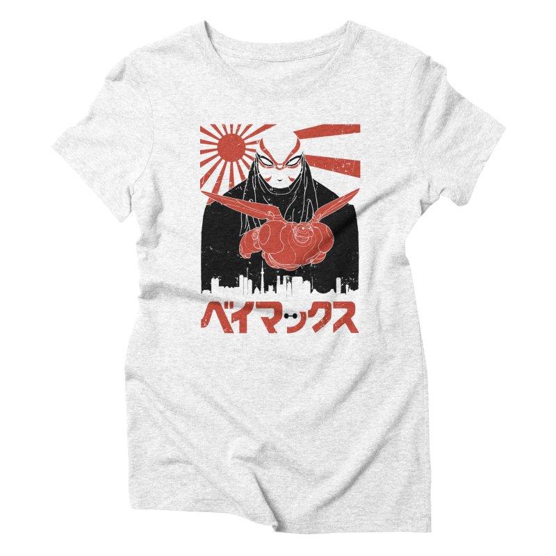 Big Hero Shirt Women's Triblend T-shirt by JailbreakArts's Artist Shop