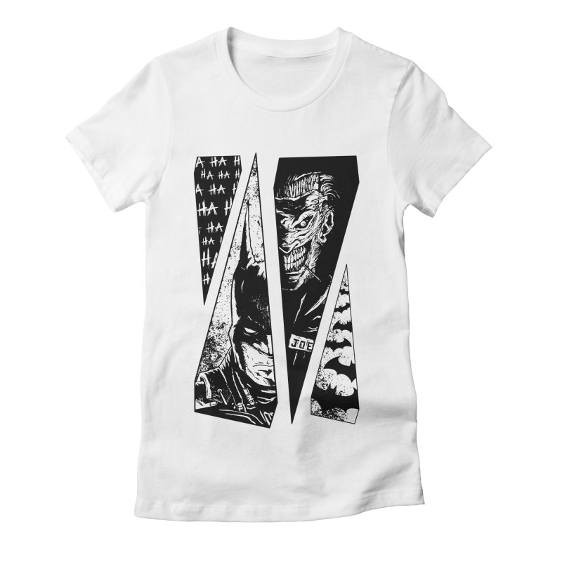 Order And Chaos Women's Fitted T-Shirt by JailbreakArts's Artist Shop