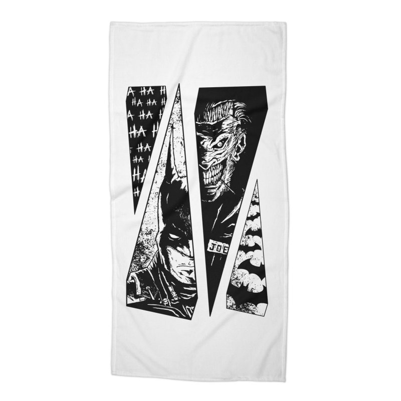 Order And Chaos Accessories Beach Towel by JailbreakArts's Artist Shop