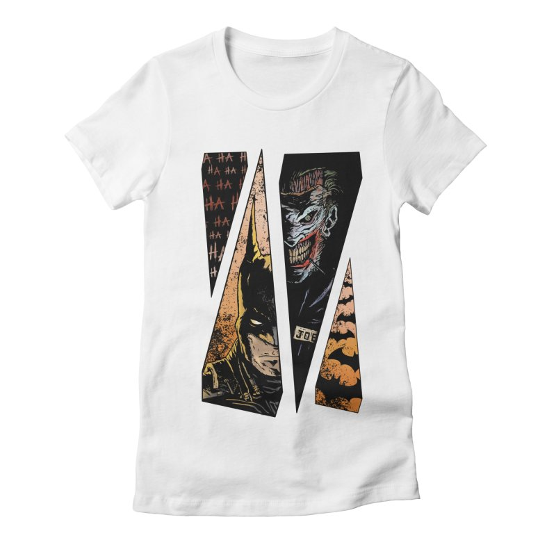 Order And Chaos Colored Version Women's Fitted T-Shirt by JailbreakArts's Artist Shop