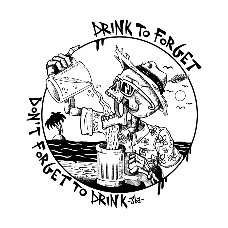 Drink To Forget Men's Classic T-Shirt by JailbreakArts's Artist Shop