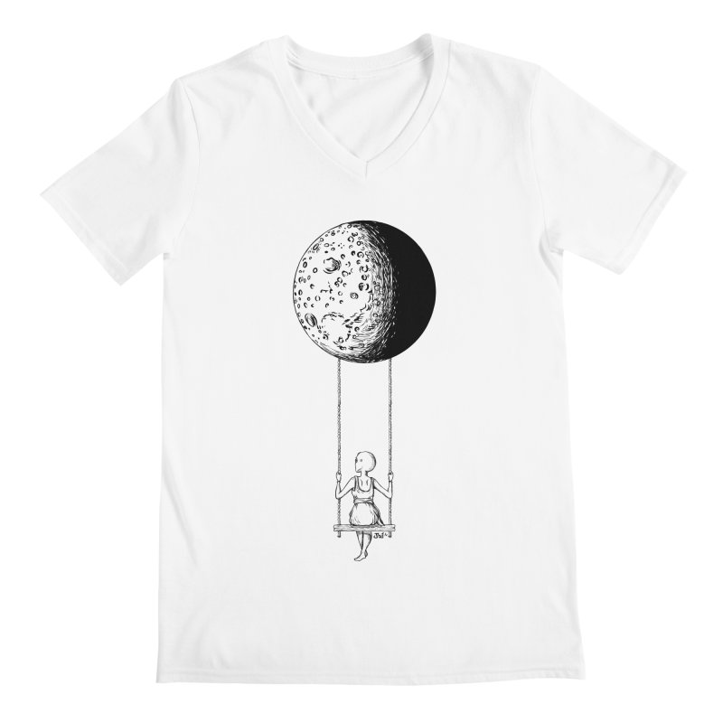 Dreaming Home 2 Men's V-Neck by JailbreakArts's Artist Shop