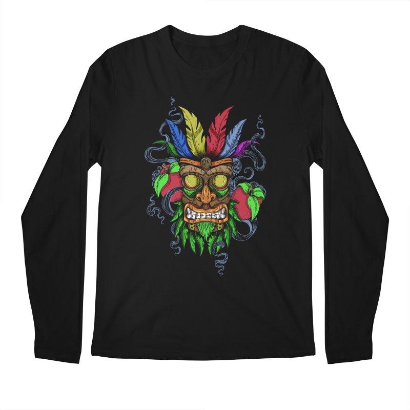 Give Me Another Chance - Aku Aku's Mask Men's Longsleeve T-Shirt by jailbreakarts's Artist Shop