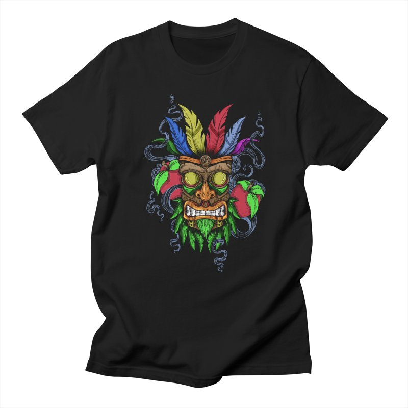 Give Me Another Chance - Aku Aku's Mask Men's T-shirt by jailbreakarts's Artist Shop