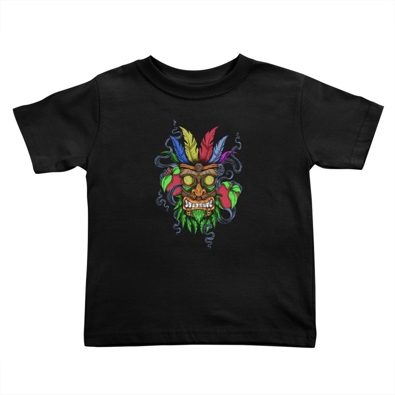 Give Me Another Chance - Aku Aku's Mask Kids Toddler T-Shirt by JailbreakArts's Artist Shop