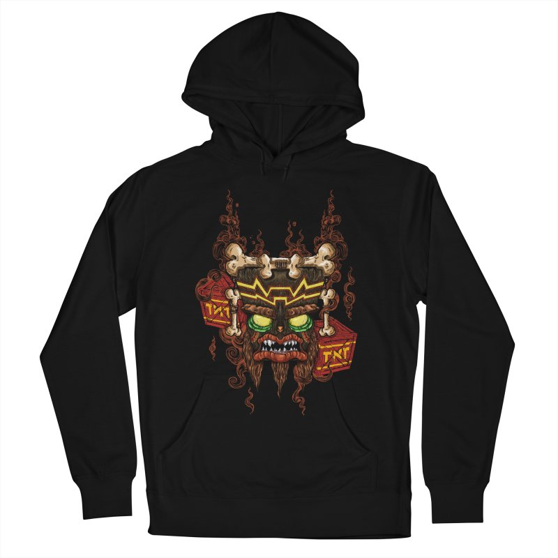 This Was Your Last Chance - Uka Uka's Mask Women's Pullover Hoody by jailbreakarts's Artist Shop
