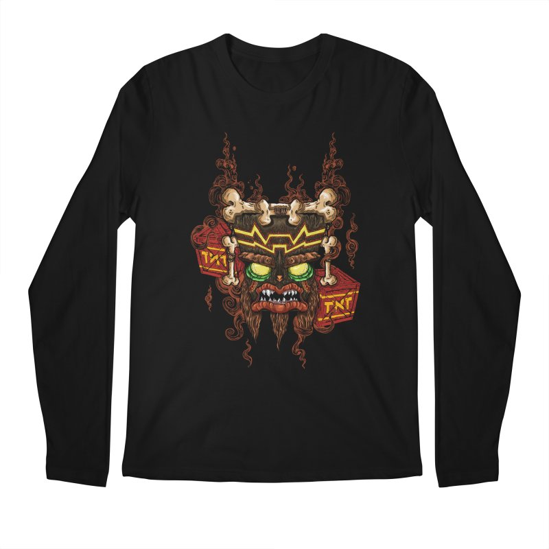 This Was Your Last Chance - Uka Uka's Mask Men's Longsleeve T-Shirt by jailbreakarts's Artist Shop