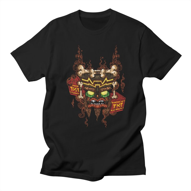This Was Your Last Chance - Uka Uka's Mask in Men's T-Shirt Black by JailbreakArts's Artist Shop