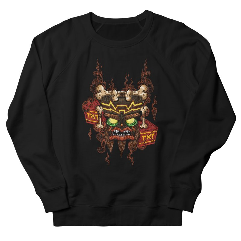 This Was Your Last Chance - Uka Uka's Mask Men's Sweatshirt by JailbreakArts's Artist Shop