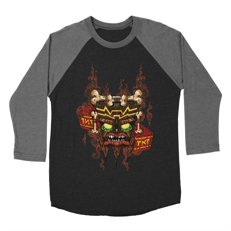 This Was Your Last Chance - Uka Uka's Mask Men's Baseball Triblend T-Shirt by JailbreakArts's Artist Shop