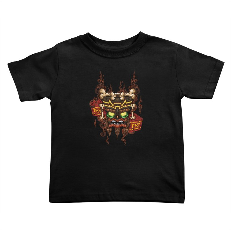 This Was Your Last Chance - Uka Uka's Mask Kids Toddler T-Shirt by JailbreakArts's Artist Shop