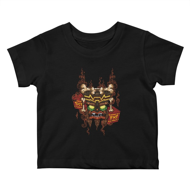 This Was Your Last Chance - Uka Uka's Mask Kids Baby T-Shirt by JailbreakArts's Artist Shop