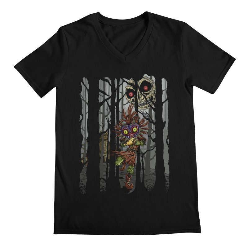 A Terrible Fate Men's V-Neck by jailbreakarts's Artist Shop