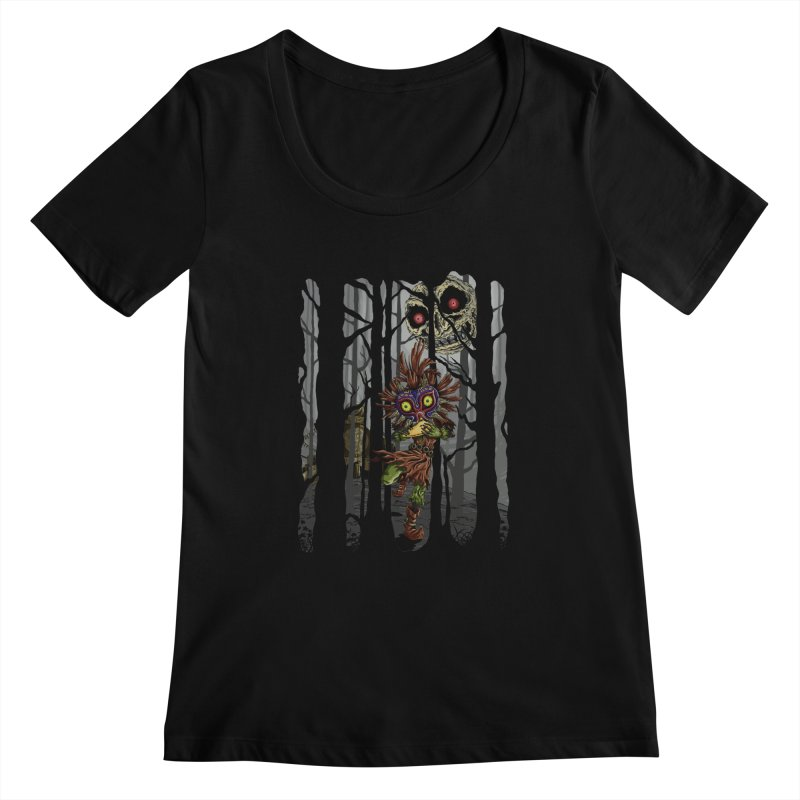 A Terrible Fate Women's Scoopneck by jailbreakarts's Artist Shop