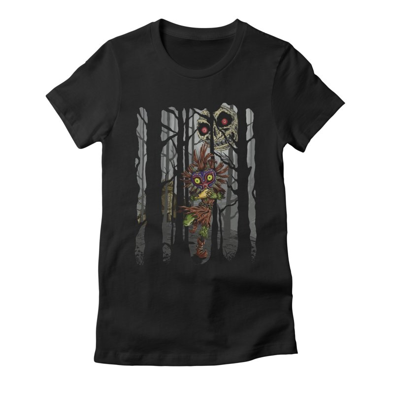 A Terrible Fate Women's Fitted T-Shirt by jailbreakarts's Artist Shop