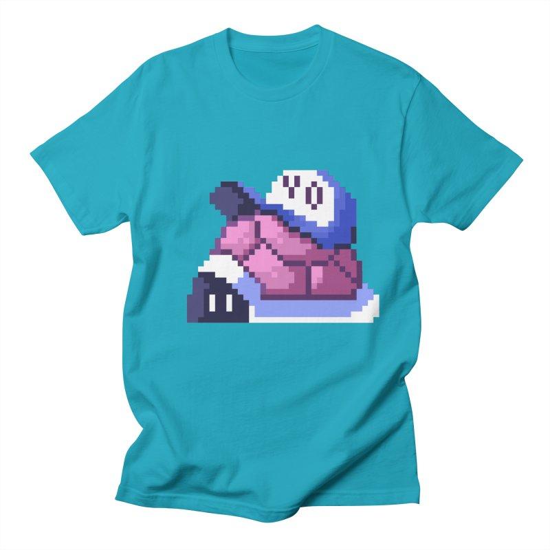 Hip Turtle Men's Regular T-Shirt by Art of Jaime Ugarte