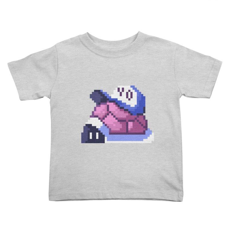 Hip Turtle Kids Toddler T-Shirt by Art of Jaime Ugarte