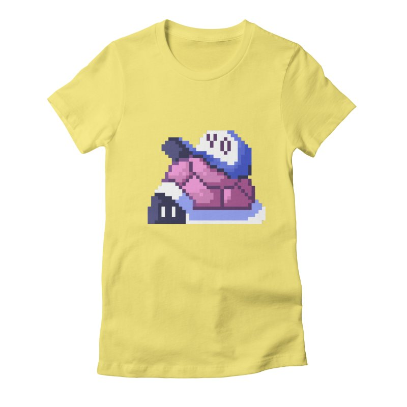 Hip Turtle Women's Fitted T-Shirt by Art of Jaime Ugarte