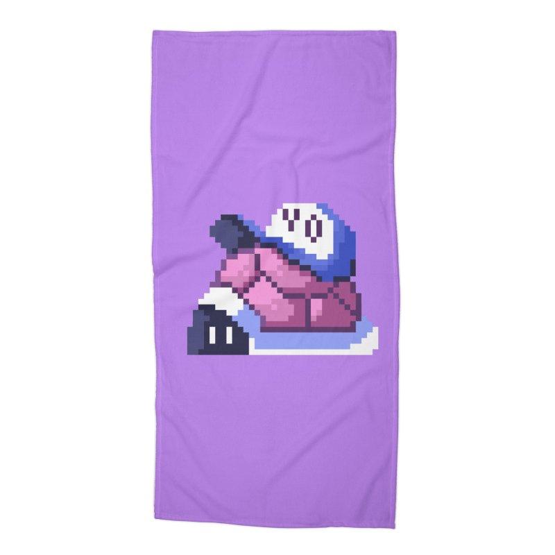 Hip Turtle Accessories Beach Towel by Art of Jaime Ugarte
