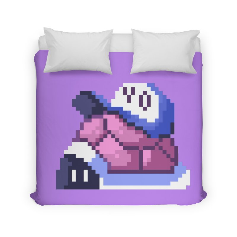 Hip Turtle Home Duvet by Art of Jaime Ugarte