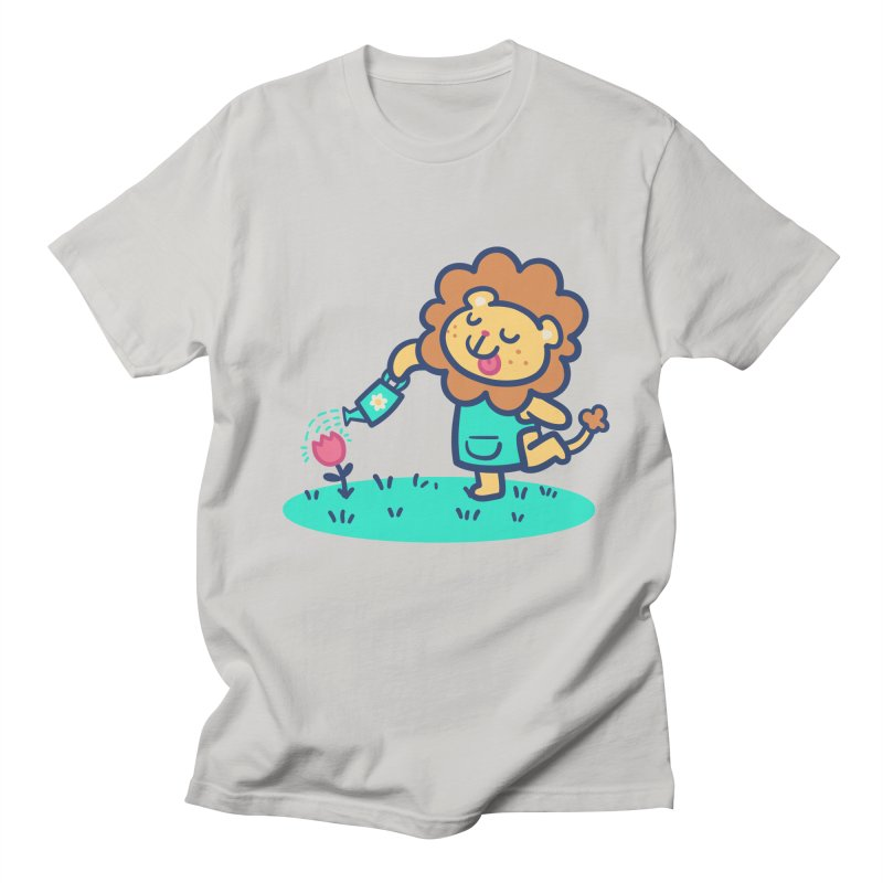 Landscaping Lion Men's T-Shirt by Art of Jaime Ugarte