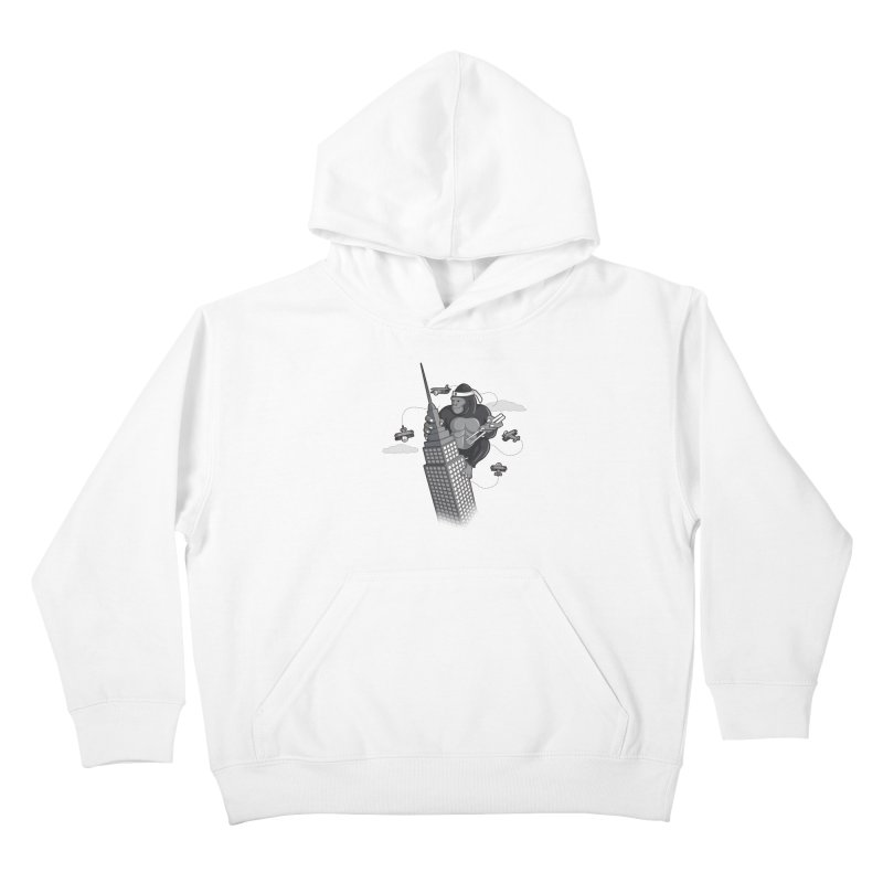Karate Kong Kids Pullover Hoody by jair aguilar's Shop