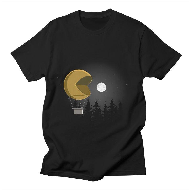 Pacmoon Men's T-Shirt by jair aguilar's Shop