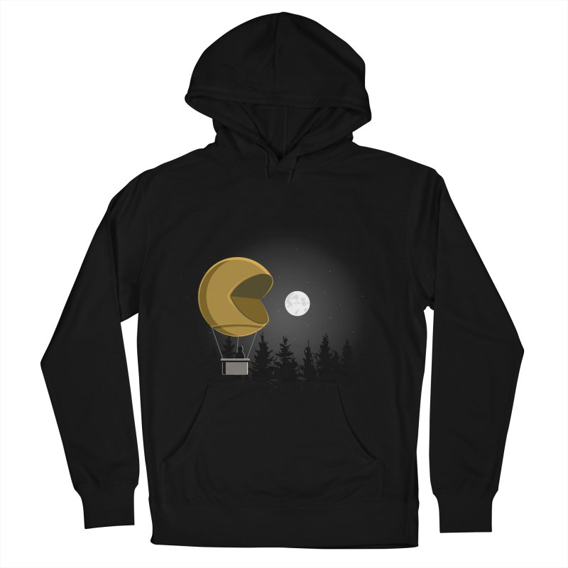 Pacmoon Women's French Terry Pullover Hoody by jair aguilar's Shop